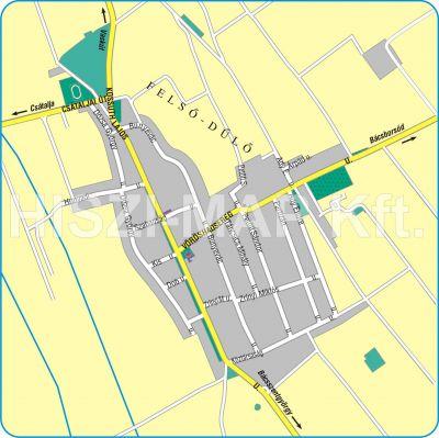 gara térkép Hiszi Map Kft. T   Bács Kiskun megye/county/Gara térkép