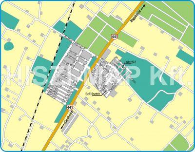 Hiszi Map Kft T Bacs Kiskun Megye County Kecskemet Katonatelep