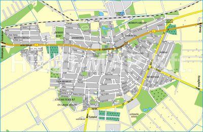 Hiszi Map Kft T Jasz Nagykun Szolnok Megye County Kisujszallas