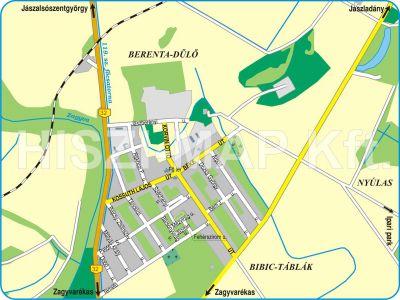 szászberek térkép Hiszi Map Kft. T   Jász Nagykun Szolnok megye/county/Szászberek térkép