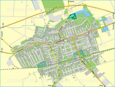 törökszentmiklós térkép Hiszi Map Kft. T   Jász Nagykun Szolnok megye/county