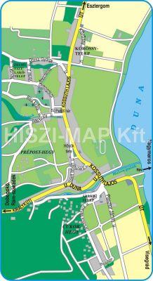 Hiszi Map Kft T Komarom Esztergom Megye County Domos Terkep