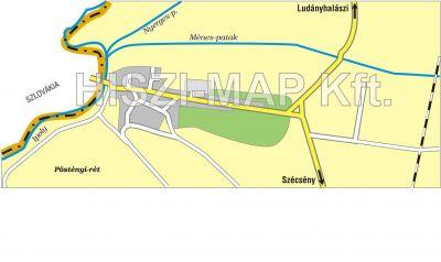 Hiszi Map Kft T Nograd Megye County Szecseny Postenypuszta Terkep