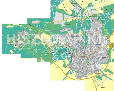Hiszi Map Kft T Veszprem Megye County Veszprem Terkep